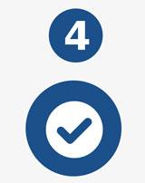 Paso 4 - Conoce los resultados y acéptanos